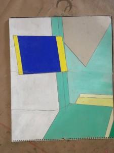Skizze mit gelb:blau